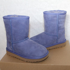 UGG TODDLER SUEDE CLASSIC SHORT BOOTS PURPLE 9